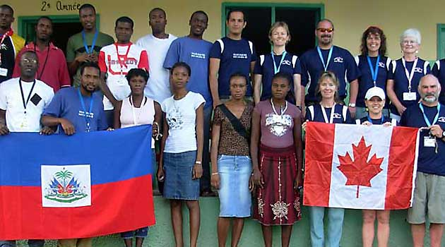 volunteer for haiti