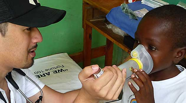 paediatric program haiti